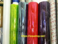 Màn PVC Màu Trong Suốt